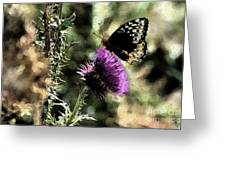 The Butterfly IIi Greeting Card
