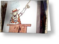 The Cartoon Carney Greeting Card