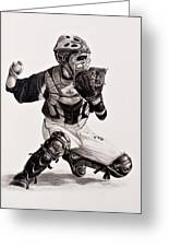 The Catcher Greeting Card