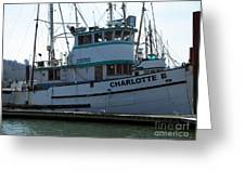 The Charlotte B Greeting Card by Chalet Roome-Rigdon