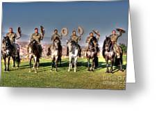 The Charros Greeting Card