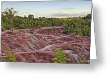The Cheltenham Badlands Greeting Card