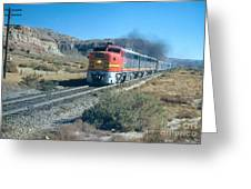 The Chief Train Greeting Card
