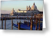 The Chiesa Di Santa Maria Della Salute Greeting Card