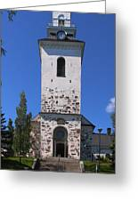The Church Of Kuopio Greeting Card