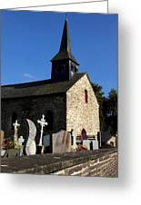 The Church Of Sainte-onenne Greeting Card