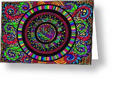 The Circle Greeting Card