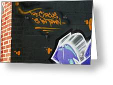 The Circus Greeting Card