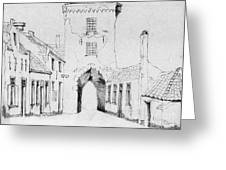 The City Gate Greeting Card