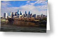 The City Of Brotherly Love Greeting Card