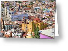 The City Of Guanajuato Greeting Card