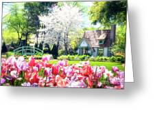 The Claude Monet Small House Greeting Card