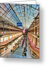 The Cleveland Arcade I Greeting Card