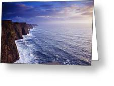 The Cliffs Of Moher, County Clare Greeting Card
