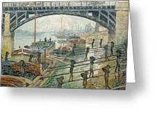The Coal Workers Greeting Card