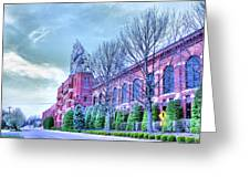 The Colgate-pamolive Company Building II Greeting Card