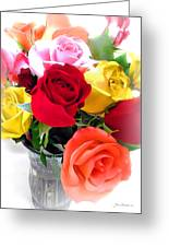 The Color Of A Rose Greeting Card