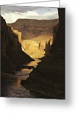 The Colorado River Flows Greeting Card