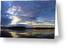The Colors Of Morning  Greeting Card