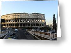 The Colosseum In Rome Greeting Card