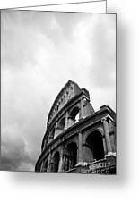 The Colosseum In Rome Greeting Card by Steven Gray