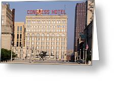 The Congress Hotel - 1 Greeting Card