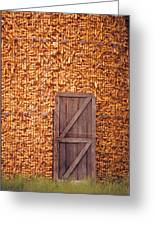 The Corn Crib Greeting Card