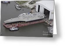 The Coronado Littoral Combat Ship Greeting Card