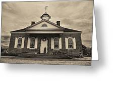 The Courthouse Greeting Card