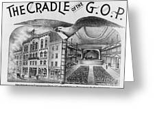The Cradle Of The Gop Greeting Card