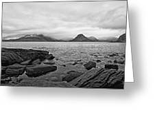 The Cuillin's In The Mist Greeting Card
