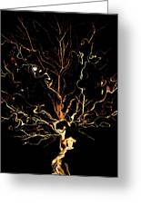 The Curious Tree Greeting Card by Yvonne Scott