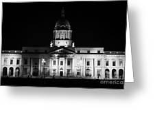 The Custom House Dublin Greeting Card