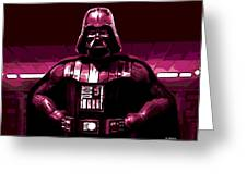 the Dark Side is Strong Greeting Card