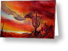The Desert Greeting Card
