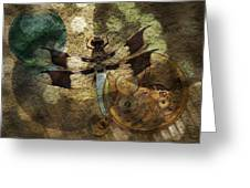 The Dharma Of The Dragonfly Greeting Card