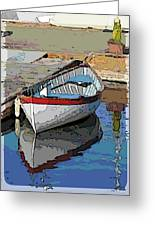 The Dinghy Greeting Card