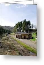 The Disused Alton Towers Railway Station Greeting Card