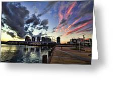 The Dockyard Greeting Card
