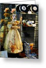 The Doll Salzburg Greeting Card by Mary Machare