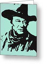 The Duke In Color Greeting Card