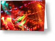 The Electric Cosmos      Nebula Traffic Jam Greeting Card by Artist Orange