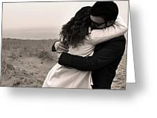 The Embrace Greeting Card
