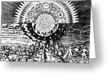 The Emerald Tablet, 1618 Greeting Card