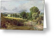 The Entrance To Fen Lane By Constable John Greeting Card by John Constable