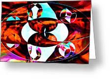 The Epicenter Greeting Card by Anthony Caruso