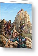The Explorers Color Greeting Card