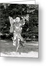 The Faery Swing Greeting Card