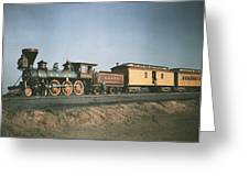 The Fair Of The Iron Horse, Baltimore Greeting Card