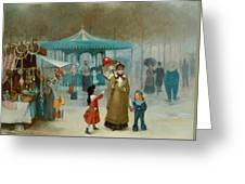The Fairground  Greeting Card
